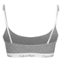 Calvin Klein Women's CK One Logo Bralette - Grey Heather: Image 2