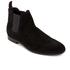 HUGO Men's Pariss Suede Chelsea Boots - Black: Image 2