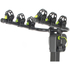 Buzz Rack Moose 3 Bike Tow Ball Carrier - Black: Image 4