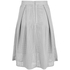 Great Plains Women's Square Route PU Skirt - Grey: Image 2