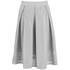 Great Plains Women's Square Route PU Skirt - Grey: Image 1
