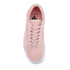 Vans Women's Old Skool Suede/Woven Trainers - Peachskin/True White: Image 3