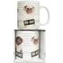 Pug Shot Mug - White: Image 1