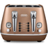 De'Longhi Distinta 4 Slice Toaster and Kettle Bundle - Copper Finish: Image 3