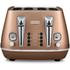 De'Longhi Distinta 4 Slice Toaster and Kettle Bundle - Copper Finish: Image 3