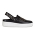 McQ Alexander McQueen Women's Netil Studded Slip-On Trainers - Black: Image 1
