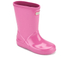 Hunter Toddlers' First Gloss Wellies - Fuchsia: Image 2