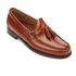 Bass Weejuns Men's Larkin Tassle Leather Loafers - Mid Brown: Image 2