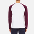 Carhartt Men's Long Sleeve Dodgers T-Shirt - White/Chianti: Image 3