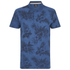 Threadbare Men's Hanoi Floral Print T-Shirt - Denim: Image 1