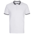 Threadbare Men's Warsaw Tipped Polo Shirt - White: Image 1