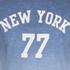 Threadbare Men's Dunbar Print Dip Dye T-Shirt - Blue: Image 3