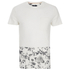 Threadbare Men's Pocket & Floral Hem T-Shirt - White: Image 1