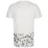 Threadbare Men's Pocket & Floral Hem T-Shirt - White: Image 2
