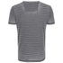 Threadbare Men's Helsinki Burnout Stripe T-Shirt - Grey: Image 2
