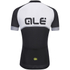 Alé Excel Veloce Short Sleeve Jersey - Black/Grey: Image 2