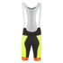 Alé PRR Bermuda Bib Shorts - Yellow/Orange: Image 1
