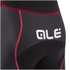 Alé Formula 1.0 Logo Bib Shorts - Black/Red: Image 3