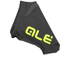 Alé Aerolight Lycra Shoe Covers - Black/Yellow: Image 1