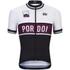 Alé Classic Pordoi Short Sleeve Jersey - Black/White/Purple: Image 1