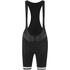 Alé Women's Plus Infinity Bib Shorts - Black/White: Image 1