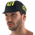 Alé Summer Cycling Cap - Black/Yellow: Image 1