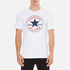 Converse Men's All Star Core Chuck Patch T-Shirt - White: Image 1