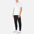 Converse Men's All Star Shield Reflective Tape Star CP T-Shirt - White: Image 4