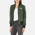 Converse Women's All Star Core Reversible MA-1 Bomber Jacket - Herbal: Image 2