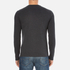 Converse Men's All Star Core Left Chest CP Long Sleeve T-Shirt - Black Heather: Image 3
