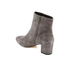 Dune Women's Pebble Mid Heeled Suede Boots - Grey: Image 4