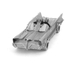 Classic Batmobile Metal Earth Construction Kit: Image 6