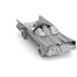 Classic Batmobile Metal Earth Construction Kit: Image 5
