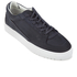 ETQ. Men's Low Top 3 Leather Trainers - Blueberry: Image 2