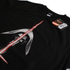 Star Wars Men's Kylo Ren Lightsabre Sweatshirt - Black: Image 2