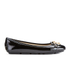 MICHAEL MICHAEL KORS Women's Fulton Patent Leather Moc Pumps - Black: Image 1