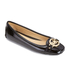 MICHAEL MICHAEL KORS Women's Fulton Patent Leather Moc Pumps - Black: Image 2