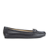 MICHAEL MICHAEL KORS Women's May Leather Moc Flat Pumps - Black: Image 1
