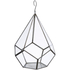 Nkuku Manduri Hanging Planter - Antique Zinc - Small: Image 1