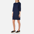 A.P.C. Women's Babba Round Neck Dress - Navy: Image 2