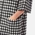 A.P.C. Women's Checked Zip Cape - Black/White: Image 5