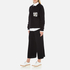 MSGM Women's Embellished Pocket Sweatshirt - Black: Image 4