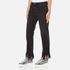 MSGM Women's Fringe Bottom Jeans - Black: Image 2