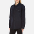 MSGM Women's Logo Back Oversized Denim Shirt - Black: Image 2