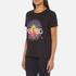 KENZO Women's Tenamie Flower Logo T-Shirt - Black: Image 2