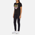 KENZO Women's Tiger Embroidered T-Shirt - Black: Image 4
