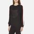 KENZO Women's Contrast Side Stripe Tiger Sweatshirt - Black: Image 2