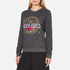 KENZO Women's Tenamie Flower Sweatshirt - Dark Grey: Image 2