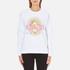 KENZO Women's Tanami Flower Logo Sweatshirt - White: Image 1