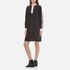KENZO Women's Flare Dress with Piping and Buttons - Black: Image 2